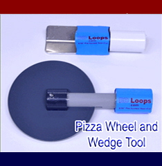 Pizza wedge and wedge tool